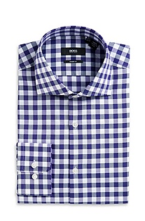'Miles US' | Sharp Fit, Extreme Spread Collar Dress Shirt