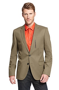 'Astus' | Slim Fit, Cotton Sport Coat