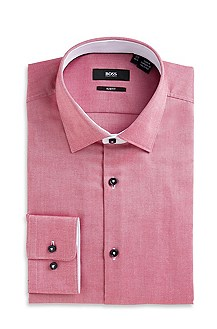 'Juri' | Slim Fit, Spread Collar Dress Shirt