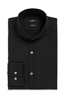 'Helge' | Extra Slim Fit, Spread Collar Dress Shirt