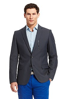 'Astus' | Slim Fit, Cotton-Blend Sport Coat