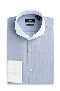 'Johan' | Slim Fit, Spread Collar Dress Shirt