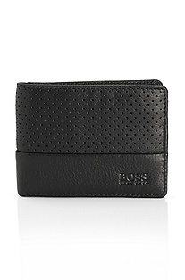 'Locc' | Perforated Leather Wallet