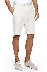 'Himmo' | Slim Fit, Cotton-Blend Shorts