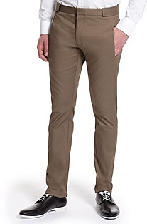 'Harok' | Slim Fit, Cotton-Blend Dress Pant