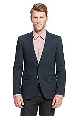 'Aeris' | Slim Fit, Cotton-Stretch Sport Coat