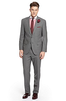 'Segal/State' | Classic Fit, Virgin Wool Suit