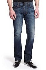 'Hugo 677/8' | Slim Fit Straight Leg Jean