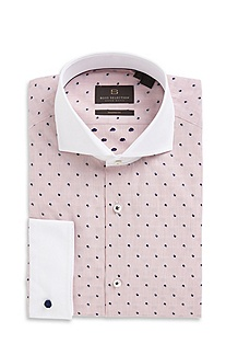 'Salvor' | Modern Fit, Spread Collar Dress Shirt
