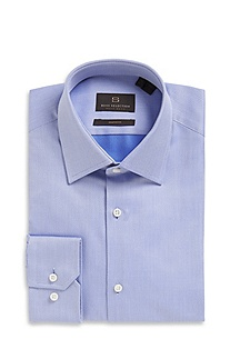 'Thob' | Shaped Fit, Cotton Dress Shirt