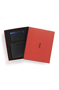 'Gubri' | Leather Wallet and Card Case Gift Set