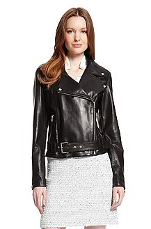 'Larine' | Leather Motorcycle Jacket