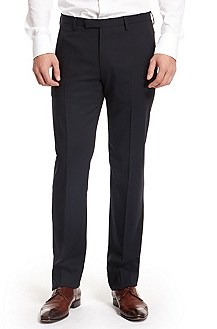 'Court' | Modern Fit, Virgin Wool Dress Pants