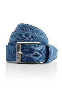 Tornios' | Textured Cotton Blend Belt