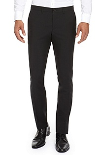 'Winng' | Extra Slim Fit, Virgin Wool Dress Pant