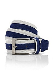'Tiemo' | Leather Striped Belt
