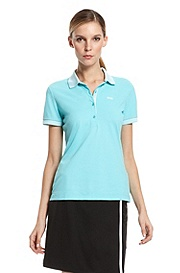 'Paulla' | Regular Fit, Performance Blend Polo Shirt