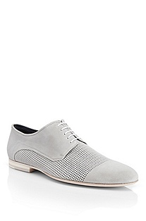 'Ution' | Leather Perforated Casual Shoe
