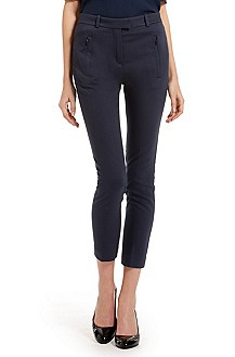'Anaita' | Stretch Cotton Cropped Pants