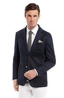 'Serilo ' | Modern Fit, Cotton-Linen Sport Coat