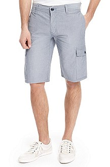 'Schwinn-Shorts' | Slim Fit, Cotton Shorts