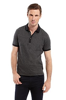 'Ancona' | Regular Fit, Cotton Polo Shirt