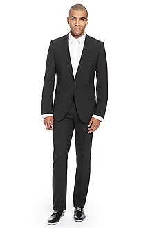 'Aikos/Heise' | Slim Fit, Virgin Wool Blend Suit