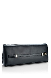 'Tara' | Leather Foldover Clutch