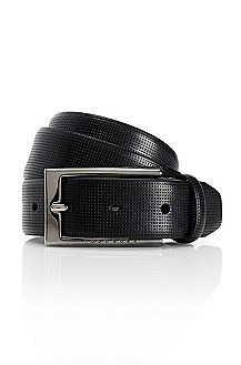'Coriolo' | Perforated Leather Belt