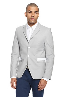 'AveroFS' | Slim Fit, Stretch-Cotton Sport Coat