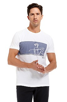 'Tee MK' |  Cotton Graphic T-Shirt