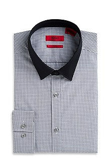 'EverettX' | Slim Fit, Point Collar Dress Shirt