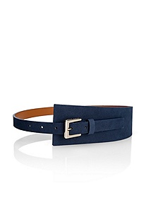 'Catlyne' | Leather Asymmetrical Belt
