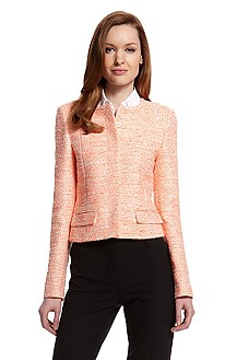 'Jelieno' | Tweed Cotton-Blend Blazer
