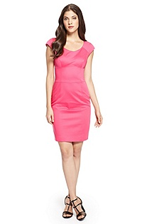 'Kilena' | Stretch-Cotton Sheath Dress