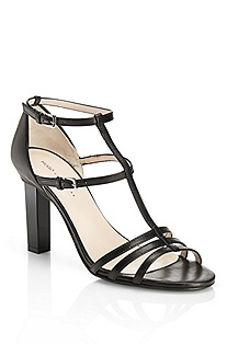 'Laural' | Leather Strappy Sandal