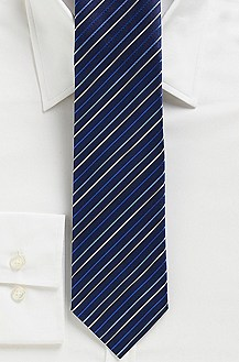 '7.5 cm Tie' | Regular Silk Striped Tie