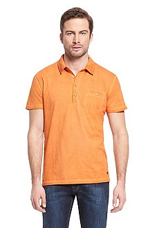 'Perpignan' | Regular Fit, Cotton Polo Shirt