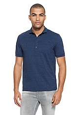 'Danakin' | Regular Fit, Cotton-Jersey Polo Shirt