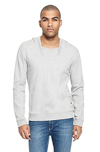 'Defy' | Cotton-Blend Squareneck Sweatshirt