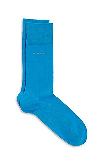 'RS Design' | Stretch-Cotton Solid Socks
