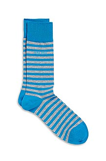 'Marc' | Stretch-Cotton Striped Socks