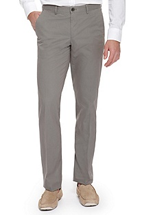 'Shap W' | Modern Fit, Cotton Dress Pant