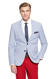 'Rhett' | Extra Slim Fit, Stretch-Cotton Sport Coat