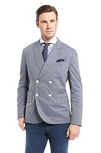 'Russell' | Extra Slim Fit, Cotton Sport Coat