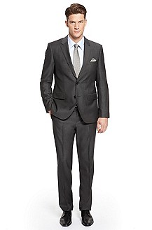'Hour/Sharp' | Modern Fit, Virgin Wool Suit