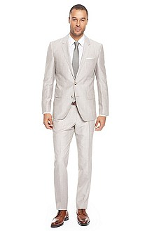 'Hedge/Gense' | Slim Fit, Wool-Blend Suit