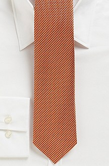 '7.5 cm Tie' | Slim, Silk Allover Print