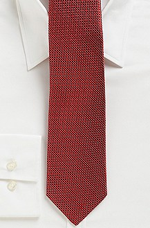 '7.5 cm Tie' | Regular Silk Checked Tie