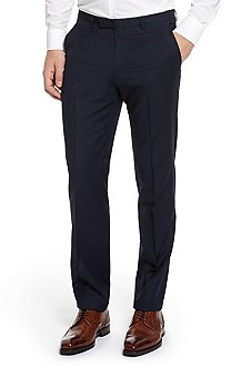 'Shark' | Modern Fit, Virgin Wool Dress Pant